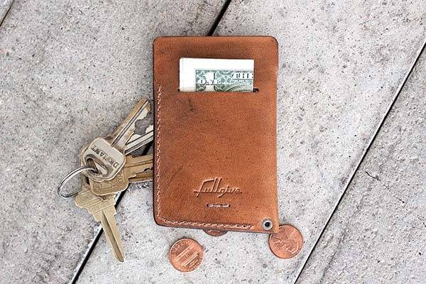 Handmade Vintage Leather Slim Wallet
