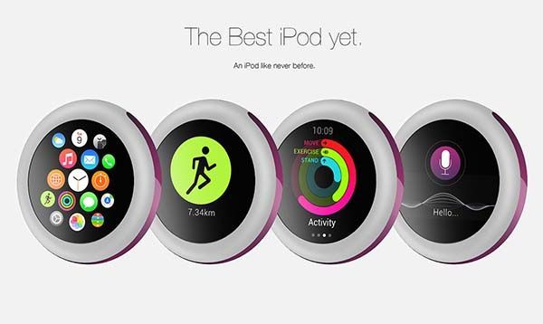 iPod Pro Concept Fitness Tracker Inspired by Apple Watch