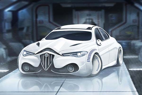 Star Wars Inspired Characters Concept Sports Cars