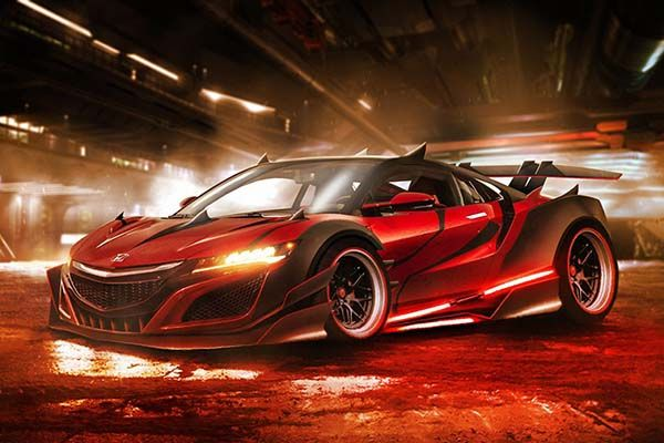 These Concept Sports Cars Inspired By Star Wars Characters