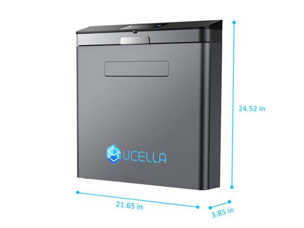 uCella Smart Package & Delivery Mailbox