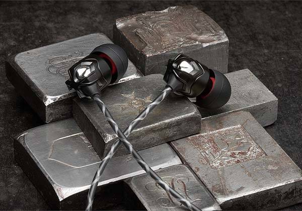 V-Moda Zn Earbuds with Zinc Metal Housing