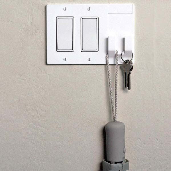 Wallhub Faceplate Organizer Multifunctional Switch Plate Cover