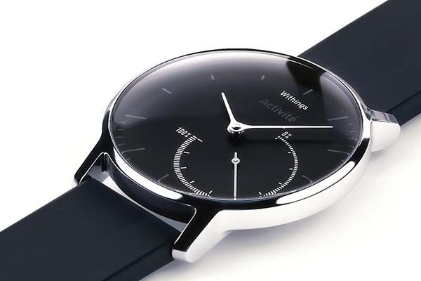 Withings Activité Steel Fitness Tracker with a Timeless Analog Watch Design