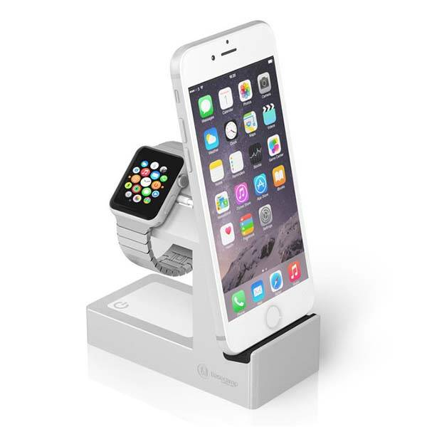 Basecamp Charging Station for Apple Watch, iPhone and Mobile Devices