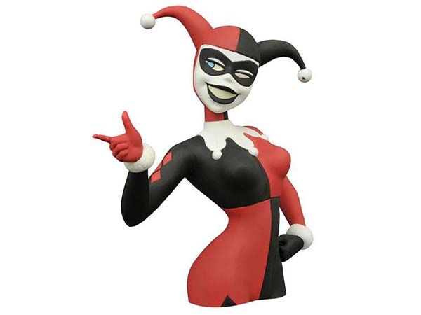 Batman The Animated Series Bust Money Bank - Harley Quinn