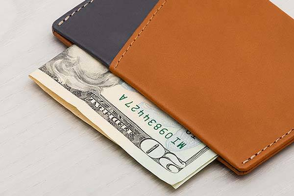 Bellroy Micro Sleeve Slim Leather Wallet