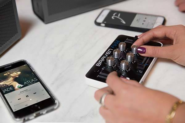Braven Fuse Portable Bluetooth Audio Mixer