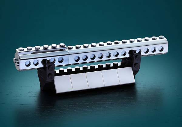 Build-On Brick Executive Ballpoint Pen Desk Set Works with LEGO, PixelBlocks and More
