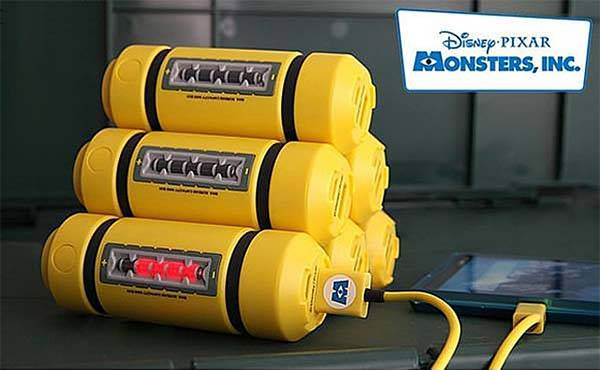 Disney Monster Inc Energy Tank Power Bank
