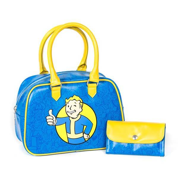 Fallout 4 Vault Boy Thumbs Up Handbag Set