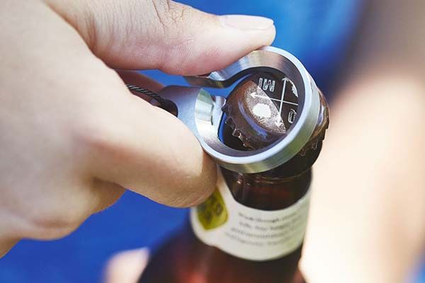 Grovemade Key Ring with Integrated Bottle Opener