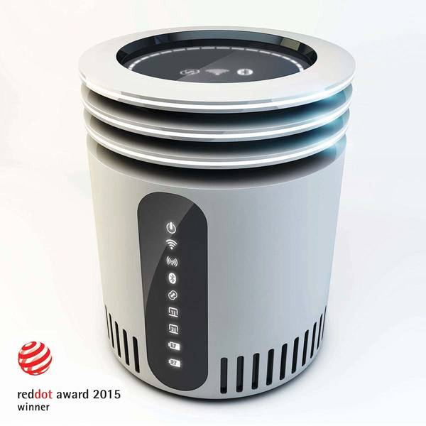Halo S Concept WiFi Router with Detachable WiFi Extenders