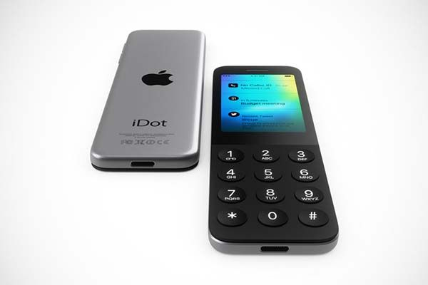Idot Shows What It Would Look Like If Apple Made Dumbphone