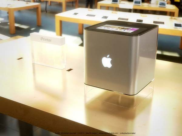 If Apple Made Their Own 3D Printer | Gadgetsin