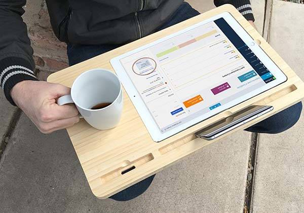iSkelter Canvas Smart Desk for iPad Pro, Apple Pencil, iPhone and More