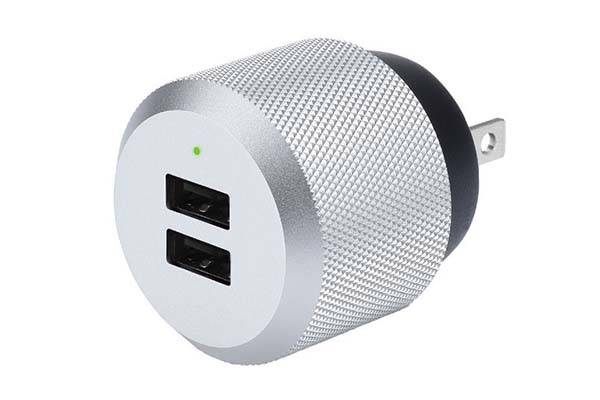 Just Mobile AluPlug Premium and Stylish USB Wall Charger