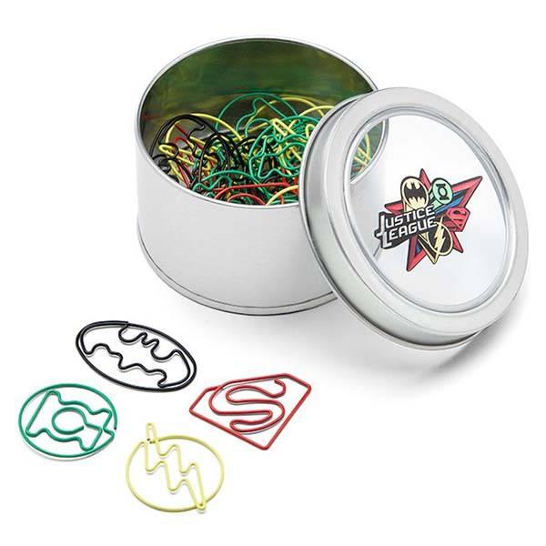 Justice League Paper Clip Set