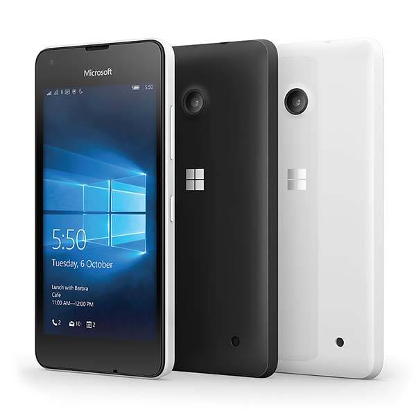 Microsoft Lumia 550 Affordable Windows 10 Phone with 4G LTE