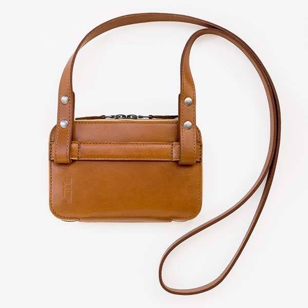 Mod Mobile 2 Leather Handbag