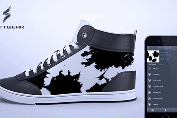 ShiftWear Color E-Ink Display Equipped Sneakers