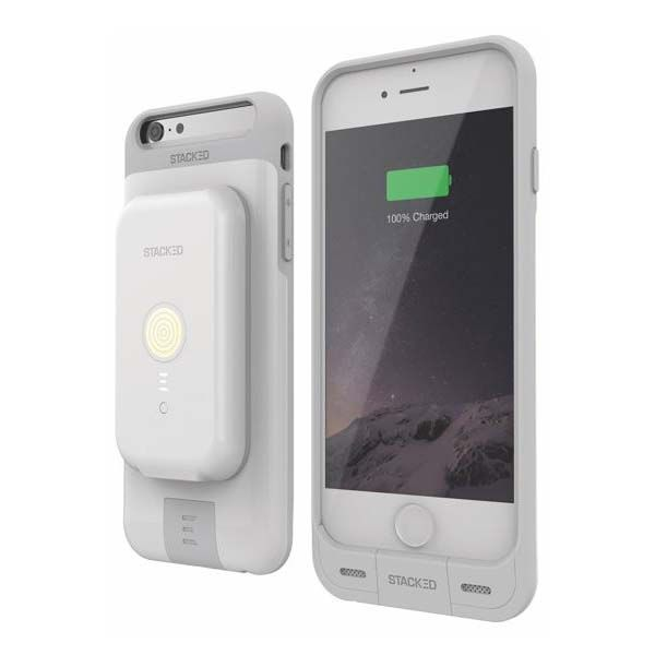 Stacked iPhone 6s 6s Plus Case Boasts Included Wireless Charger and Power Bank