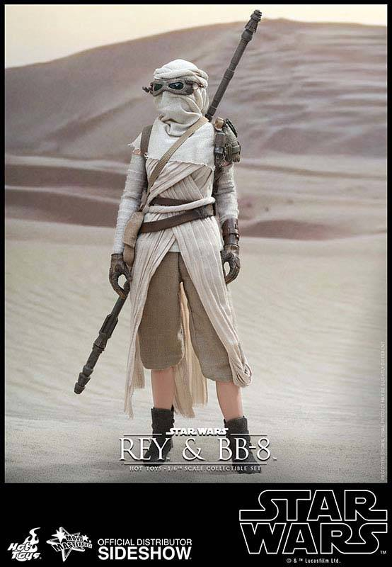 Star Wars VII Rey and BB-8 Collectible Action Figure Set