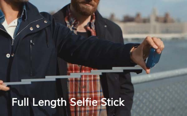 STIKBOX iPhone 6s/ 6s Plus Case with Selfie Stick
