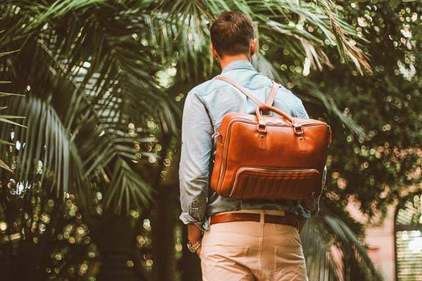 The 48Hr Classic Briefcase Works as Messenger Bag, Backpack and Camera Bag