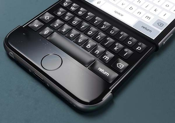 The Concept iPhone 6k Features a Slidable Keyboard