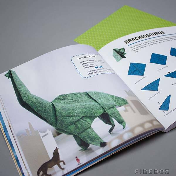 The Dinosaur Origami Book Lets You Build Your Own Jurassic World