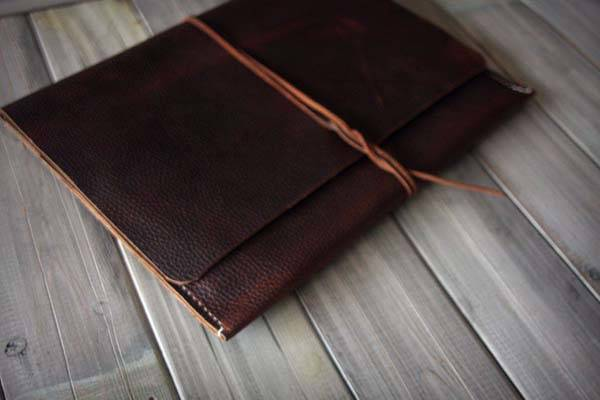 The Handmade iPad Pro Leather Case
