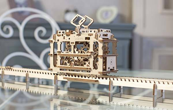 UGEARS Mechanical Model Kits