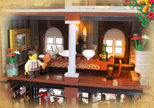 Victorian London Christmas LEGO Set