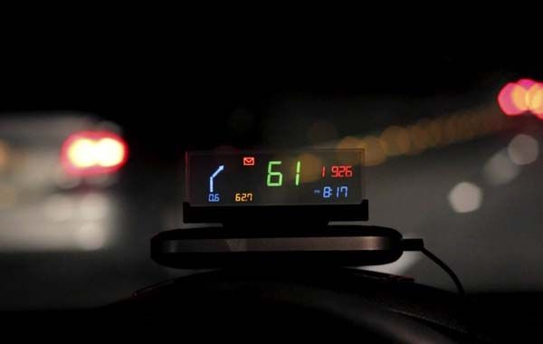 Vinet Vehicle Head-Up Display Works with Your Car and Smartphone