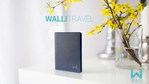 Walli Smart Leather Wallet
