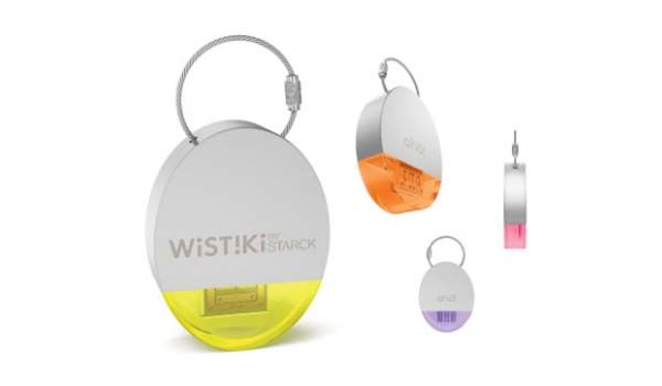 Wistiki Bluetooth Tracker for Your Keychain, Wallet, Pet and More