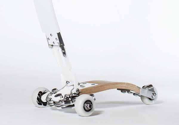 W-scooter Ultra Compact Scooter around Your Waist