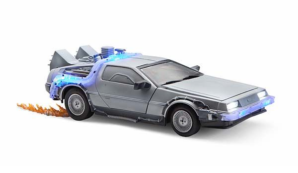 Back to the Future 1:15 Iced DeLorean Replica