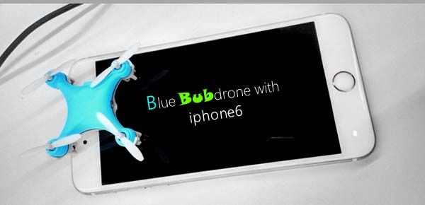 BubDrone Ultra Mini Flying Drone with 720p Camera
