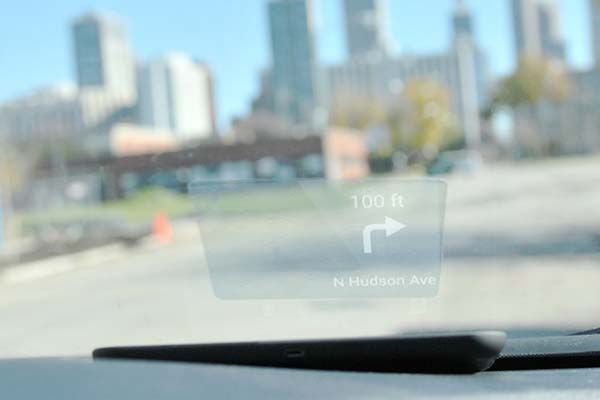Carloudy Smart Head-Up Display with E-ink Screen