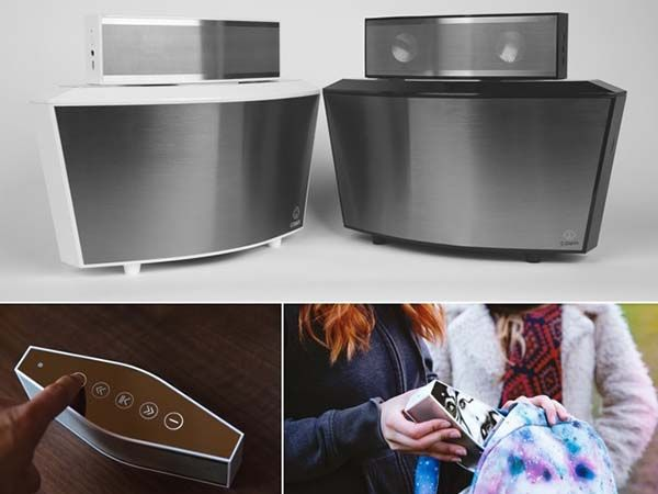 Cowin Ark Portable Bluetooth Speaker Features a Detachable Subwoofer