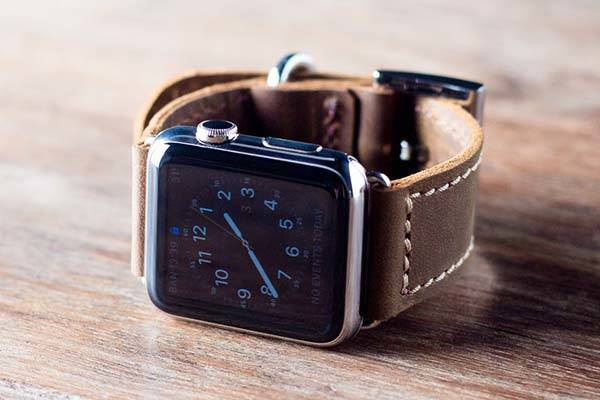 Handmade Apple Watch Leather Band