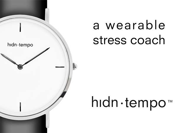Hidn Tempo Smart Watch Band Focuses on Reducing Your Stress