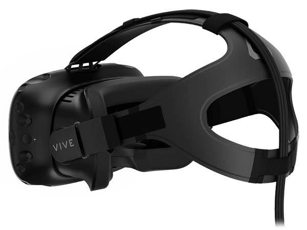 HTC 2th Generation VR Headset Vive Pre wth Integrated Front Facing Camera and Redesigned Controllers