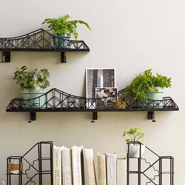 Ironbirdge Iron Birdge Shaped Wall Shelf