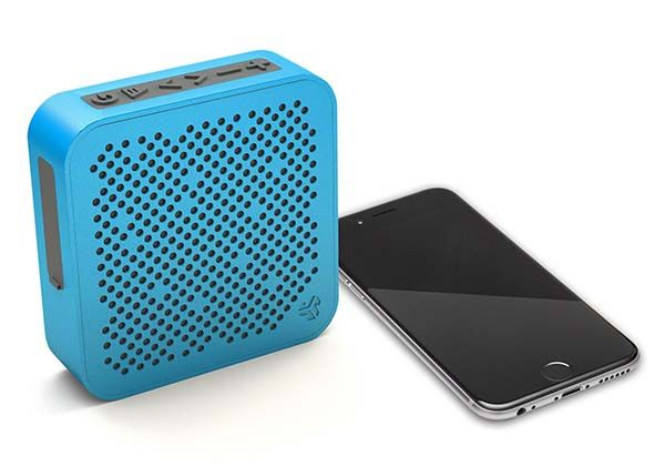 JLab Audio Crasher Mini Splashproof Bluetooth Speaker