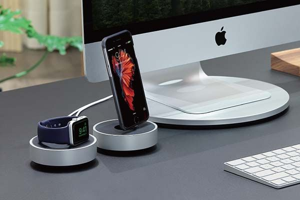 Just Mobile HoverDock Charging Stations for Apple Watch and iPhone