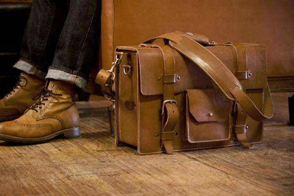 Kendal & Hyde Vintage Modular Leather Briefcases