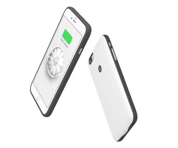 Kuke iPhone 6s/ 6s Plus Case with Backup Battery and Extra Storage Capacity